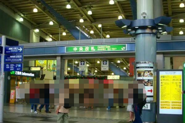 品川駅でJDと合流
